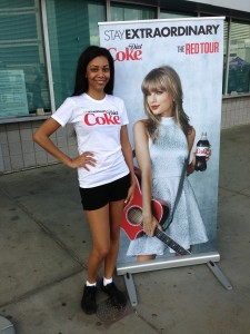 Diet Coke at Taylor Swift concert