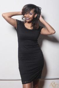 RHOA Kenya Moore hair care launch